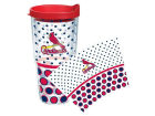 St. Louis Cardinals Tervis Tumbler 24oz. Polka Dot Tumbler With Lid BBQ & Grilling