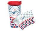 Los Angeles Dodgers Tervis Tumbler MLB 24oz. Polka Dot Tumbler With Lid BBQ & Grilling