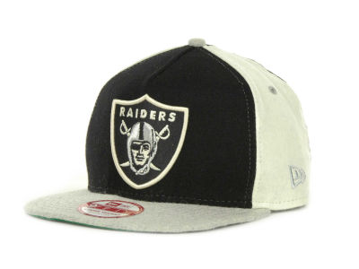 Oakland Raiders NFL Triple Melt Strapback 9FIFTY Cap Hats