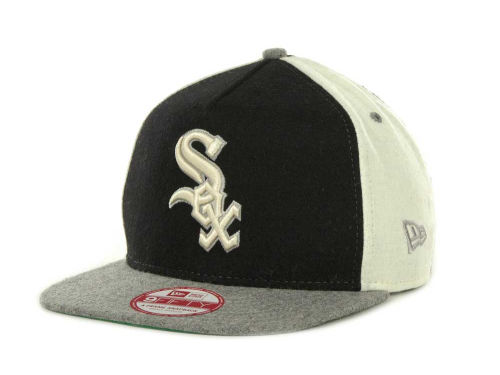Chicago White Sox New Era MLB Triple Melt Strapback 9FIFTY Cap Hats