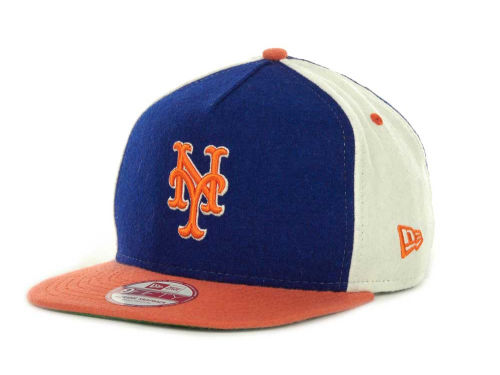 New York Mets New Era MLB Triple Melt Strapback 9FIFTY Cap Hats