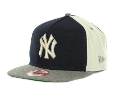 New York Yankees MLB Triple Melt Strapback 9FIFTY Cap Hats