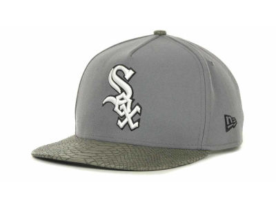 Chicago White Sox MLB Snake Strapback 9FIFTY Cap Hats
