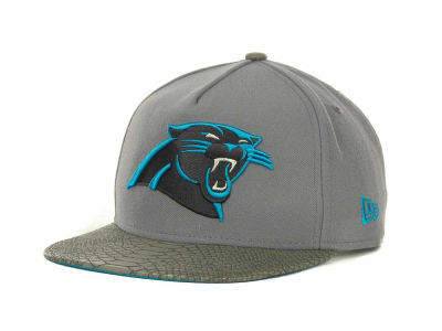 Carolina Panthers NFL Snake Strapback 9FIFTY Cap Hats