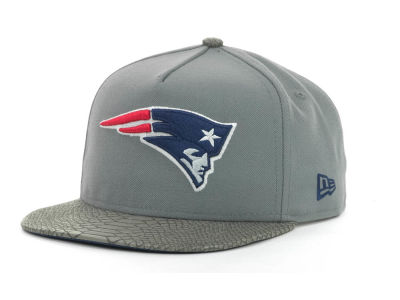 New England Patriots NFL Snake Strapback 9FIFTY Cap Hats