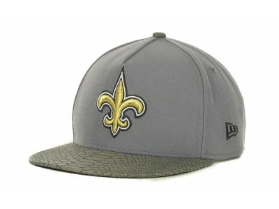 New Orleans Saints NFL Snake Strapback 9FIFTY Cap Hats
