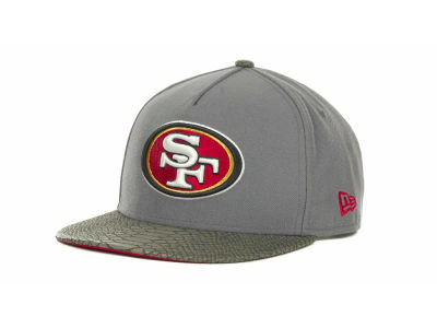 San Francisco 49ers NFL Snake Strapback 9FIFTY Cap Hats