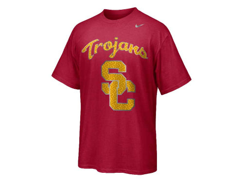 USC Trojans Nike NCAA Fast Is Faster Authentic T-Shirt
