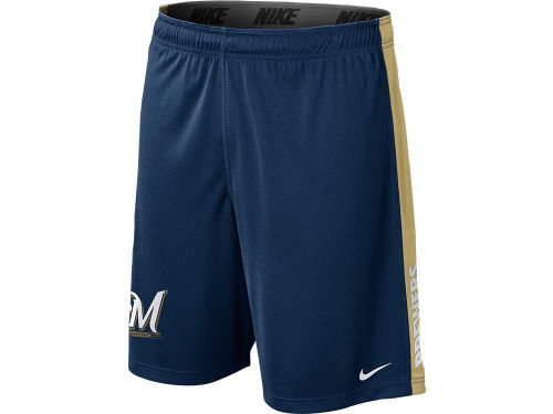 Milwaukee Brewers Nike MLB AC Dri-Fit Fly Short 2013