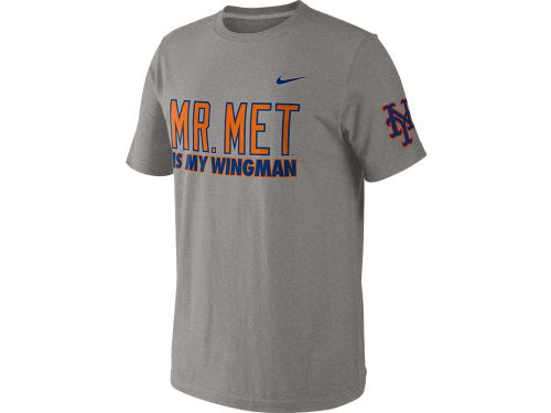 New York Mets Nike MLB Mascot Wingman T-Shirt