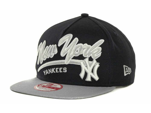 New York Yankees New Era MLB Script Logo Snapback 9FIFTY Cap Hats