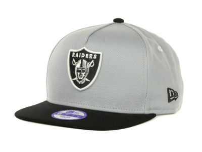 Oakland Raiders NFL Kids Turnover Snapback 9FIFTY Cap Hats