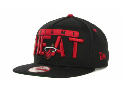 Miami Heat NBA Hardwood Classics Saweet Snapback 9FIFTY Cap Hats