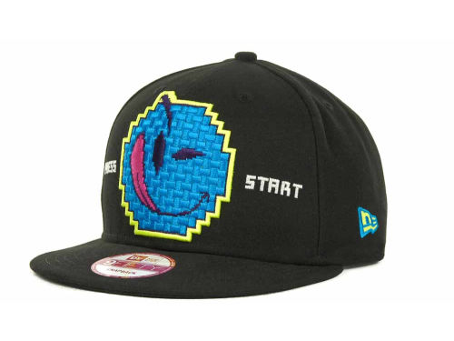 YUMS Face Invaders Snapback Cap  Hats