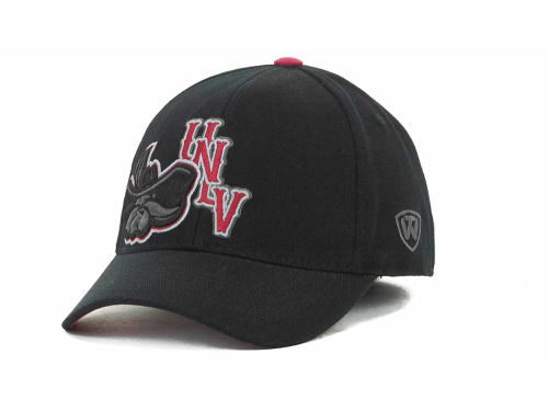 UNLV Runnin Rebels Top of the World NCAA Clutch Black Cap Hats