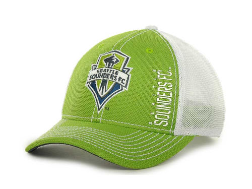 Seattle Sounders FC adidas MLS Coaches Flex Cap Hats