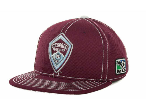 Colorado Rapids adidas MLS Player Flex Cap Hats