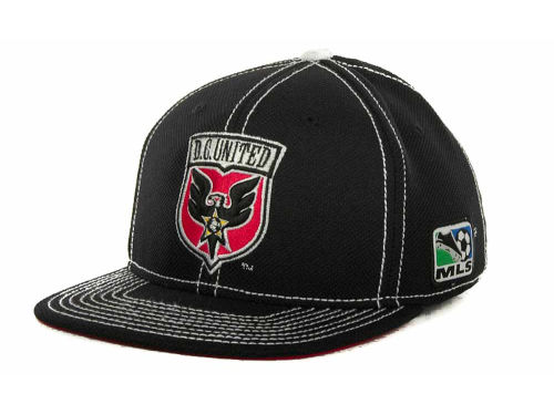 DC United adidas MLS Player Flex Cap Hats