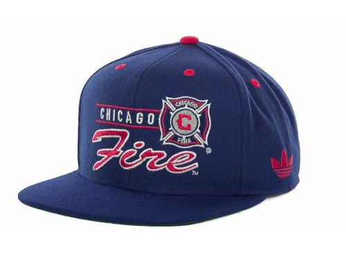 Chicago Fire adidas MLS Snapback Cap 2013 Hats