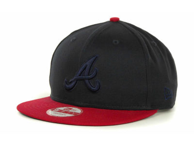 Atlanta Braves MLB 2 Tone Tonal 9FIFTY Cap Hats