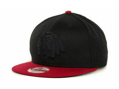 Chicago Blackhawks NHL 2 Tone Tonal Snapback 9FIFTY Cap Hats