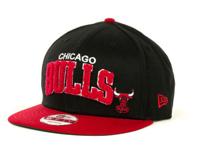Chicago Bulls NBA Chenielle Snapback 9FIFTY Cap Hats