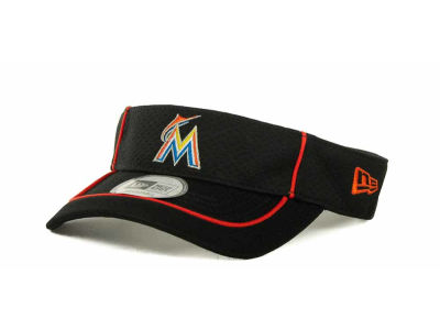 Miami Marlins MLB Pipe Up Visor Hats