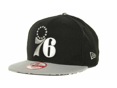 Philadelphia 76ers NBA Hardwood Classics Z-Back Strapback 9FIFTY Cap Hats