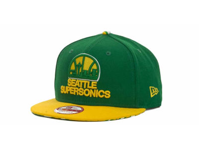 Seattle SuperSonics NBA Hardwood Classics Z-Back Strapback 9FIFTY Cap Hats