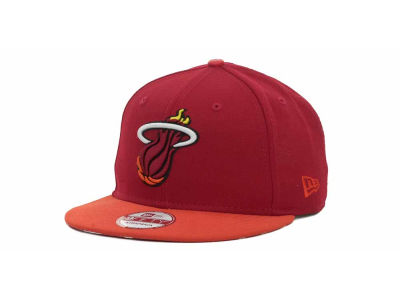 Miami Heat NBA Hardwood Classics Z-Back Strapback 9FIFTY Cap Hats