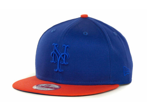 New York Mets New Era MLB 2 Tone Tonal 9FIFTY Cap Hats