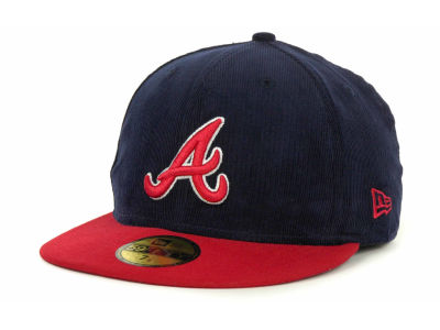 Atlanta Braves MLB Team Cord 59FIFTY Cap Hats