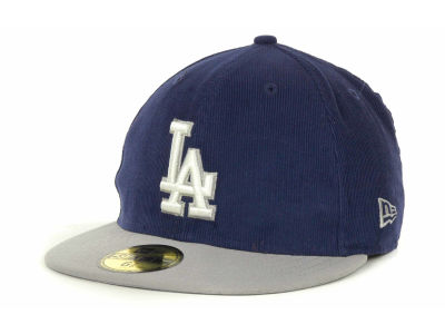 Los Angeles Dodgers MLB Team Cord 59FIFTY Cap Hats