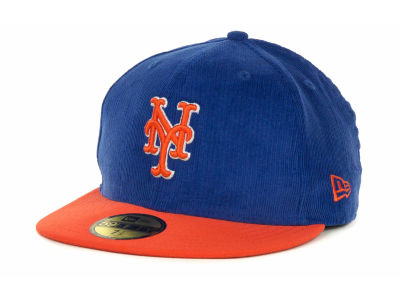 New York Mets MLB Team Cord 59FIFTY Cap Hats