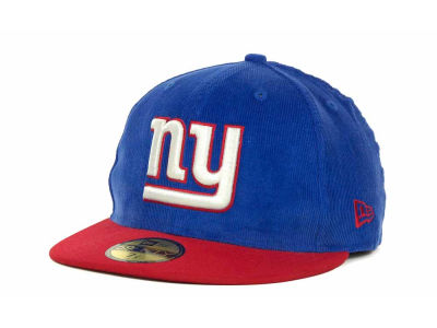 New York Giants NFL Team Cord 59FIFTY Cap Hats