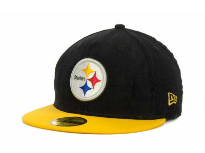 Pittsburgh Steelers NFL Team Cord 59FIFTY Cap Hats