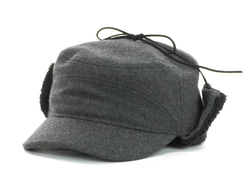 LIDS Private Label PL Wool Military with Earflaps Hats