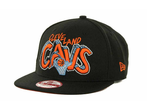 Cleveland Cavaliers New Era NBA Hardwood Classics Van Ice Strapback 9FIFTY Cap Hats