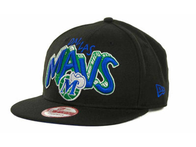 Dallas Mavericks NBA Hardwood Classics Van Ice Strapback 9FIFTY Cap Hats
