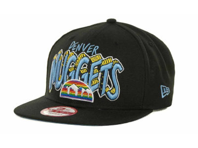 Denver Nuggets NBA Hardwood Classics Van Ice Strapback 9FIFTY Cap Hats
