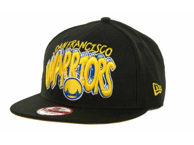 Golden State Warriors NBA Hardwood Classics Van Ice Strapback 9FIFTY Cap Hats