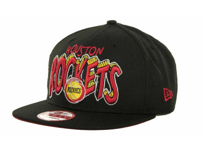 Houston Rockets NBA Hardwood Classics Van Ice Strapback 9FIFTY Cap Hats
