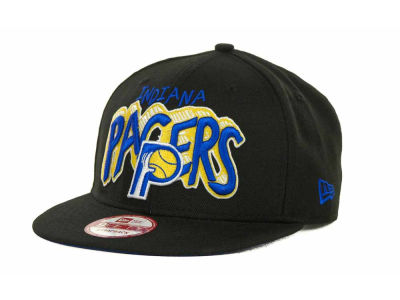 Indiana Pacers NBA Hardwood Classics Van Ice Strapback 9FIFTY Cap Hats