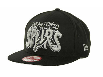 San Antonio Spurs NBA Hardwood Classics Van Ice Strapback 9FIFTY Cap Hats