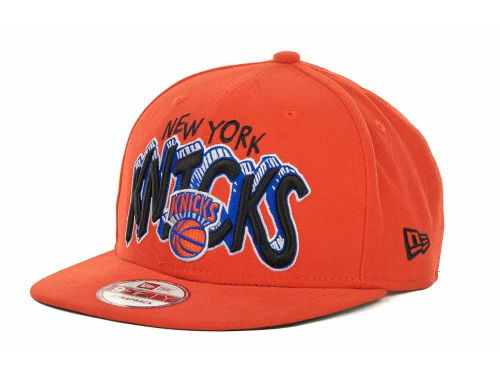 New York Knicks New Era NBA Hardwood Classics Van Ice Strapback 9FIFTY Cap Hats