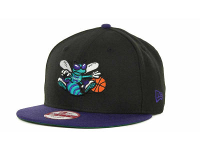 New Orleans Hornets NBA Hardwood Classics 2 Tone Base Snap 9FIFTY Cap Hats
