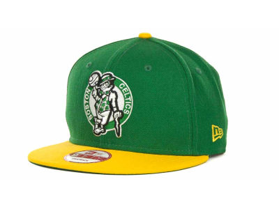 Boston Celtics NBA Hardwood Classics 2 Tone Base Snap 9FIFTY Cap Hats