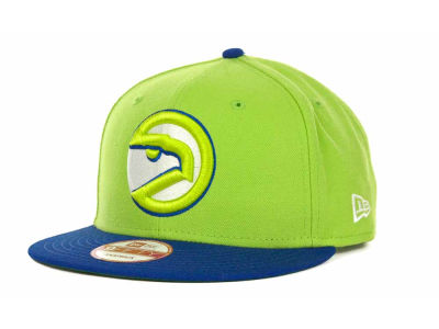 Atlanta Hawks NBA Hardwood Classics 2 Tone Base Snap 9FIFTY Cap Hats