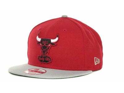 Chicago Bulls NBA Hardwood Classics 2 Tone Base Snap 9FIFTY Cap Hats