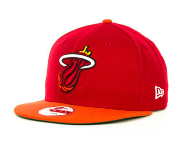 Miami Heat NBA Hardwood Classics 2 Tone Base Snap 9FIFTY Cap Hats